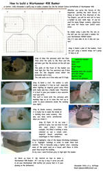 How to build Bunkers for 40k by SirPongo