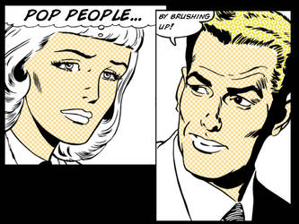 Pop People Brushes by motion-suggests