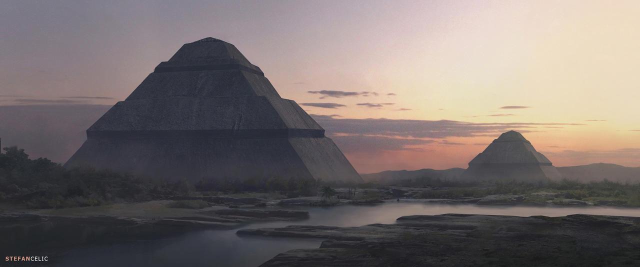Pyramids by StefanCelic