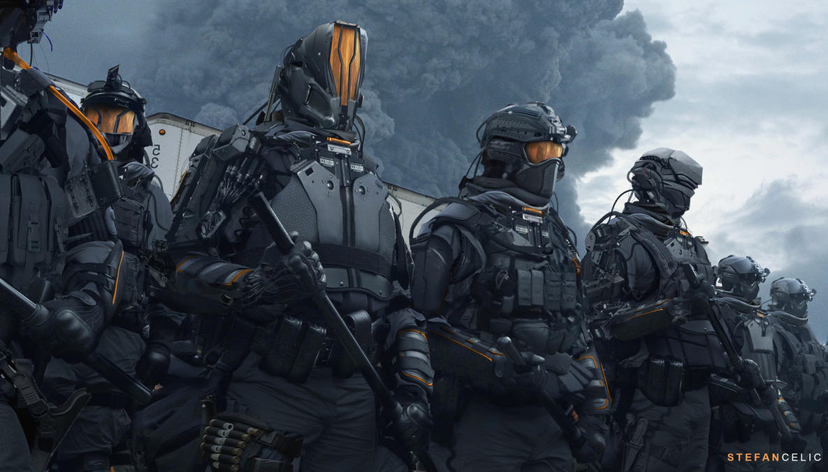Soldiers by StefanCelic