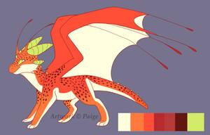 Angler Dragon Custom: Northwestspiritwolf