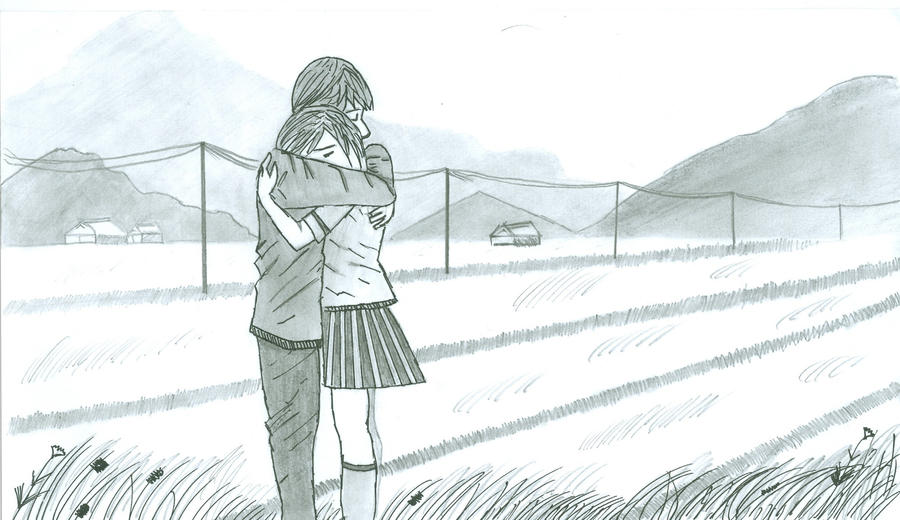 Sad Hug - Farewell by Hussam123 on DeviantArt