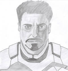 Tony Stark by Hussam123
