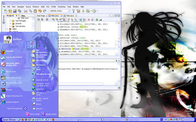 Love Hina Desktop by Aleds