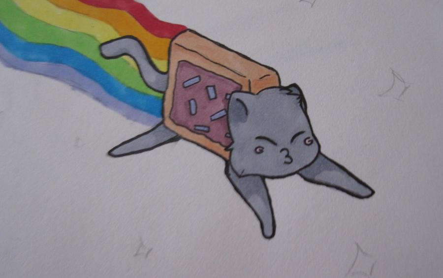 Nyan cat by Dodofan