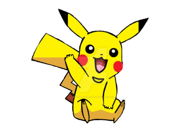 Pikachu Sin Fondo By Smiledrawer1011 On DeviantArt