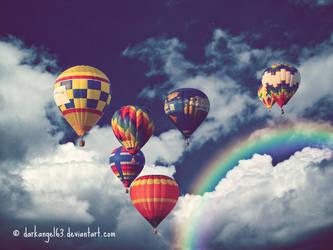 Hot Air Balloon. by darkangel63