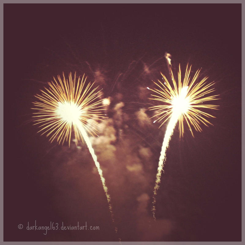 Baby, you're a firework. by darkangel63