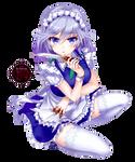 [Render] Sakuya from Touhou