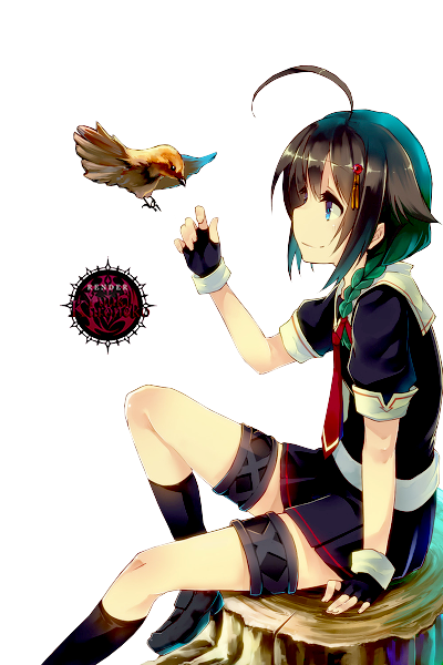 45 renders manga _render__pixiv_girl_by_araki96neko-d7wxaym