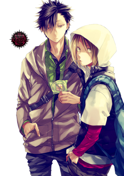 80 Renders Mangas Amour/Amitié _render__kuro_and_kenma_by_araki96neko-d7wxb6o