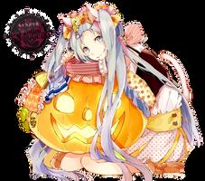 [Render] Miku Halloween by Araki96Neko
