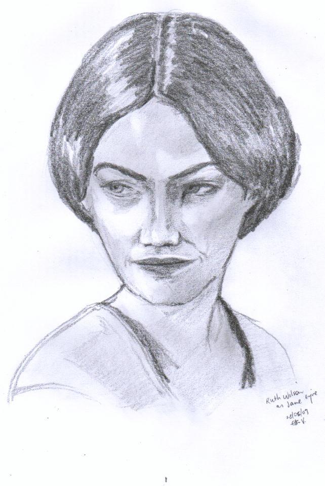 Ruth Wilson as Jane Eyre by Vertizart on DeviantArt