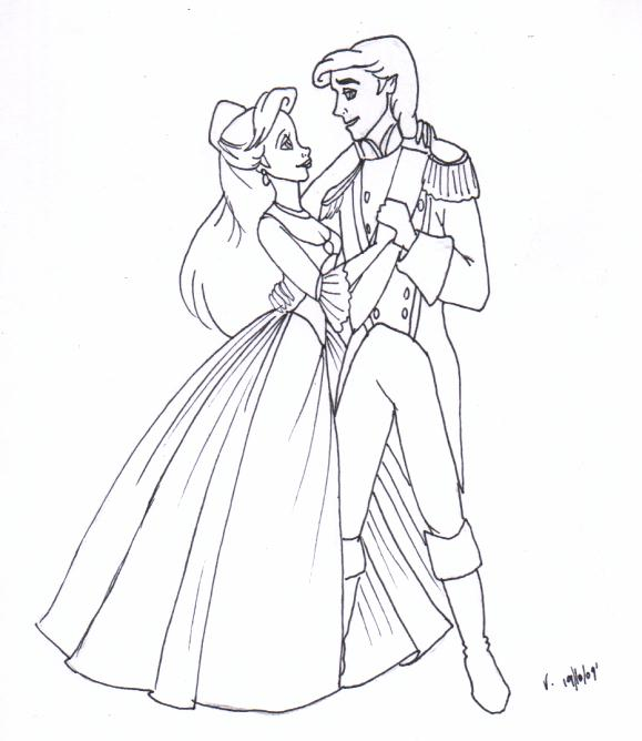 tlm ariel and eric by Vertizart on DeviantArt