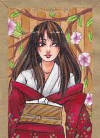 Aceo Card #68 - Tori by LunaLunett