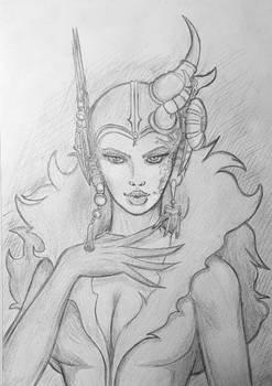 Edea Kreamer (Sketch)