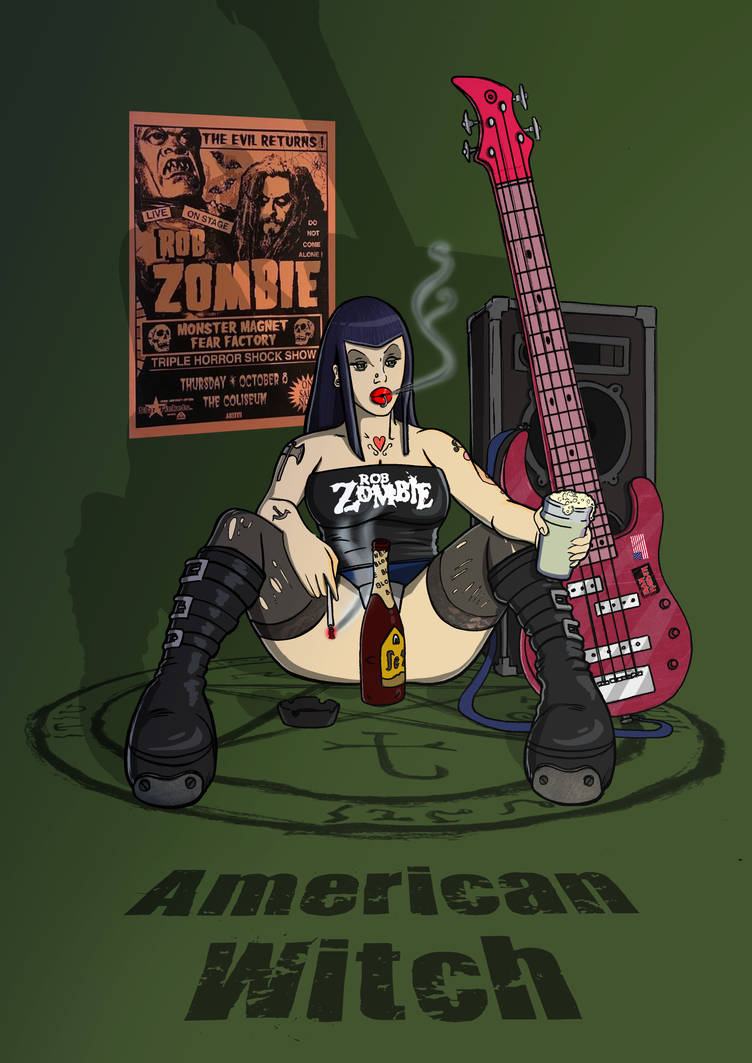 Zoe - American Witch - Rob Zombie Tribute.