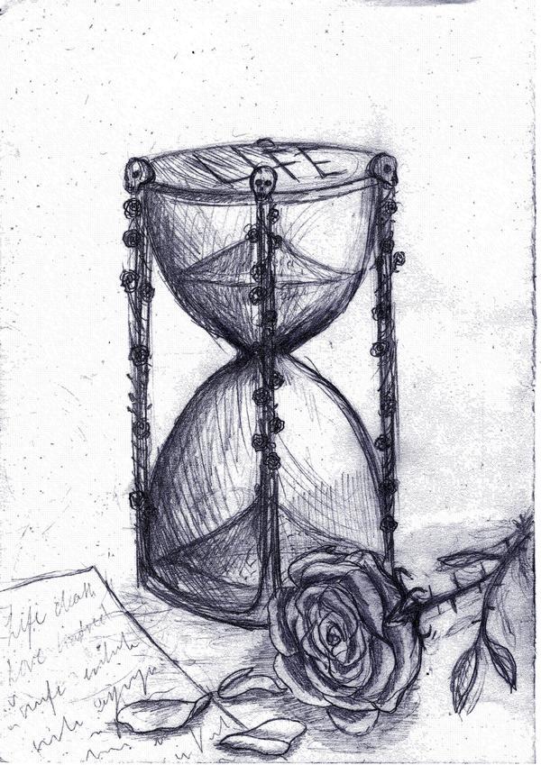 Hourglass sketch by GothiLalita on DeviantArt