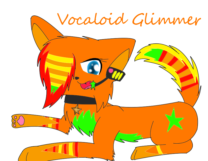 Glimmer Vocaloid Form by xXChikara-the-wolfXx