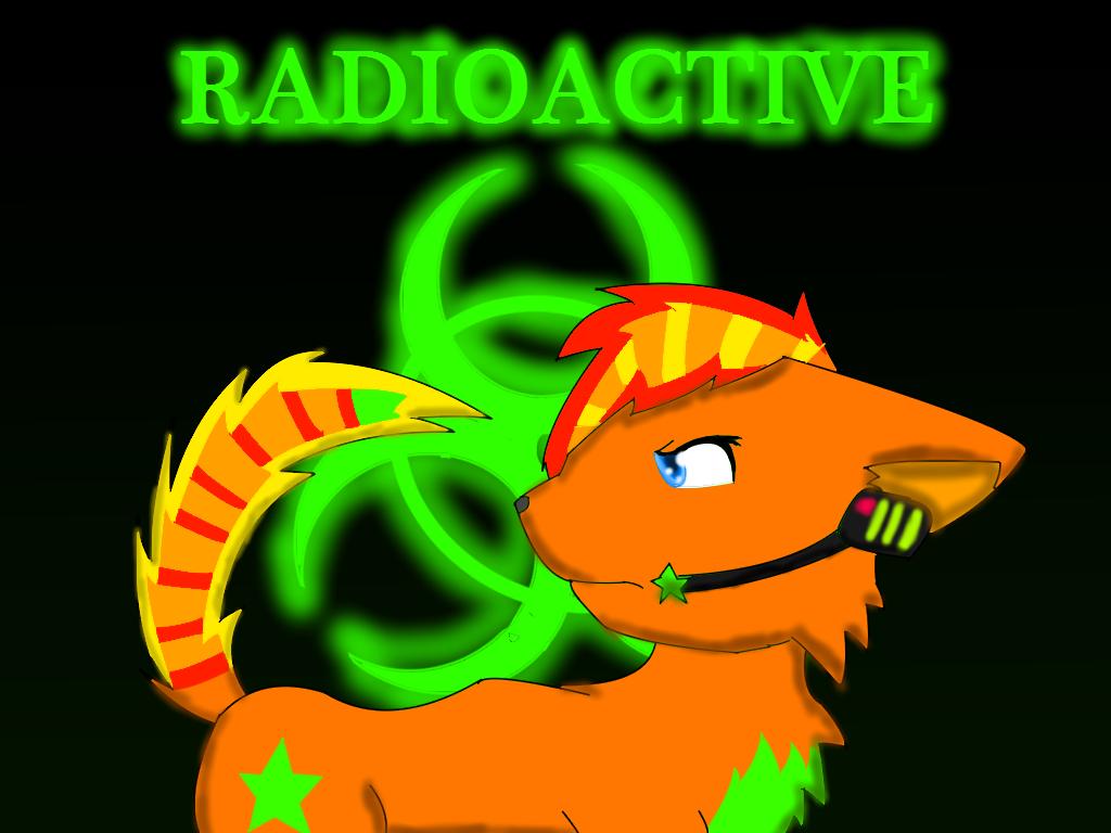 Vocal Glimmer Radioactive Artwork by xXChikara-the-wolfXx