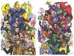 Magic DC Vs. Magic Marvel