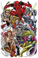 Enemies of Wolverine by olybear