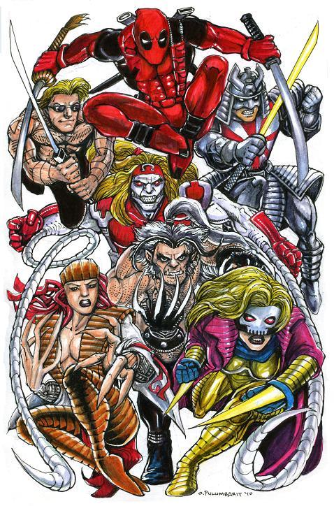 Enemies Of Wolverine By Olybear On Deviantart