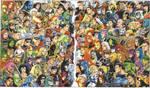 JLA Vs. Avengers Colored, 2002
