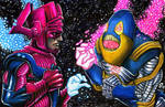 Galactus Vs. Anti-Monitor