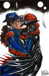 Question and Batwoman
