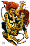 Cheetah Vs. Tigra