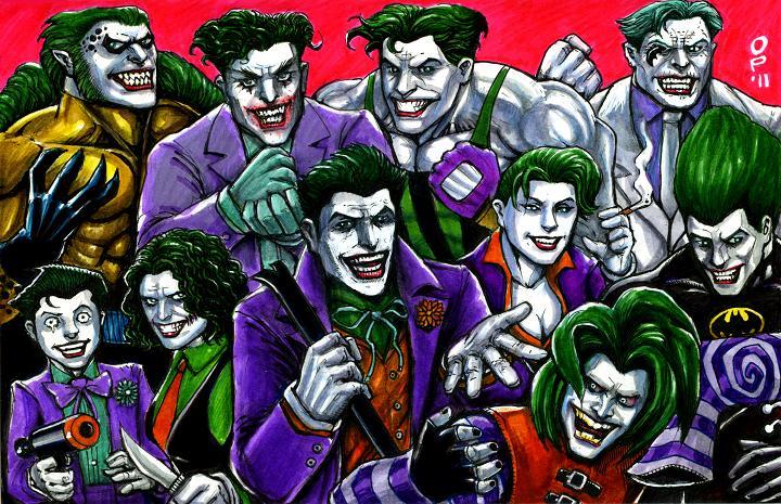 Ten Jokers by olybearNew 52 Joker Returns
