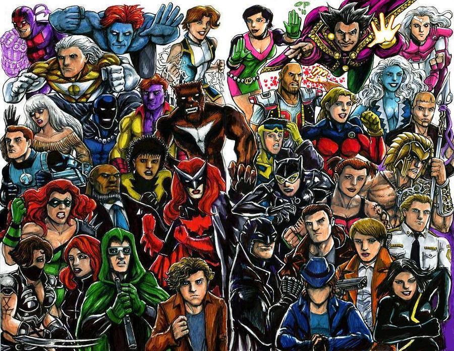 Super Gay DC by olybear