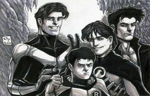 Bat Brothers by olybear