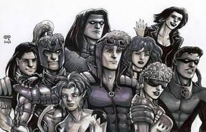 X-Force, Circa 1992 by olybear
