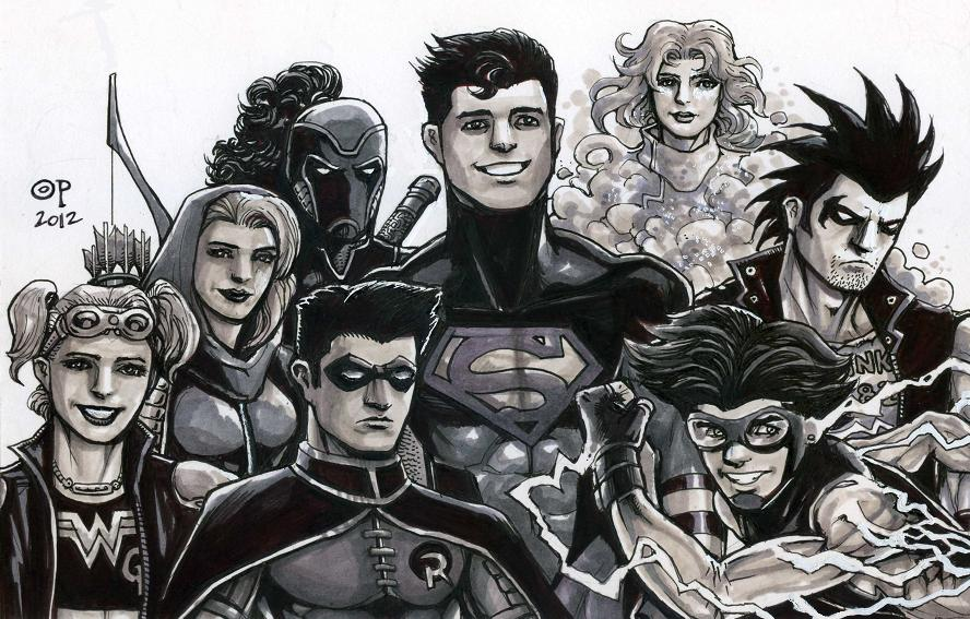 Young Justice, Circa 2001 by olybear