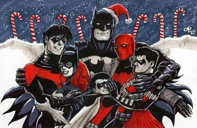 Bat Hugs by olybear