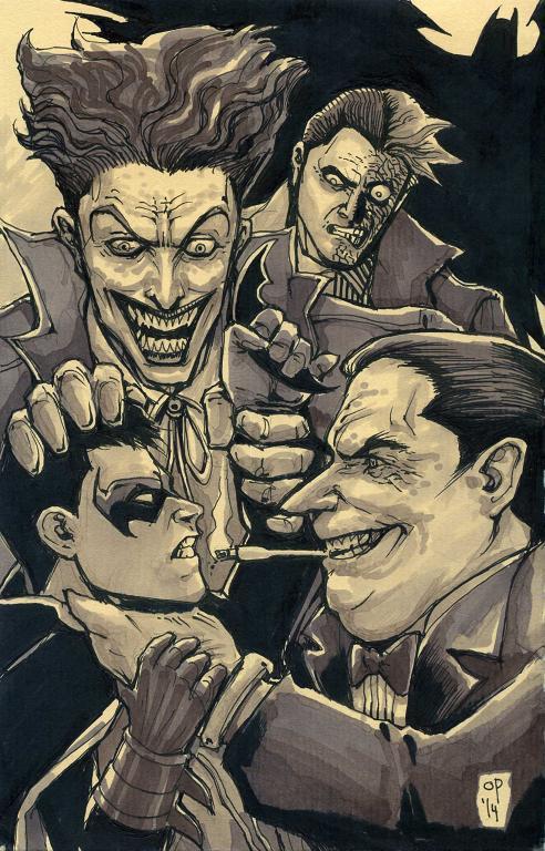 Gotham Halloween by olybear