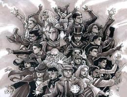 DC Mystics by olybear