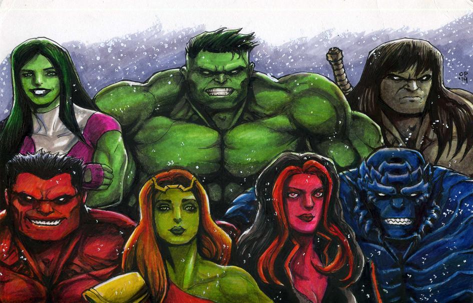 Hulky Holidays by olybear