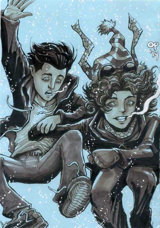 Gotham Winter by olybear