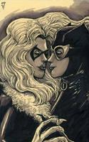 Felicia and Selina by olybear