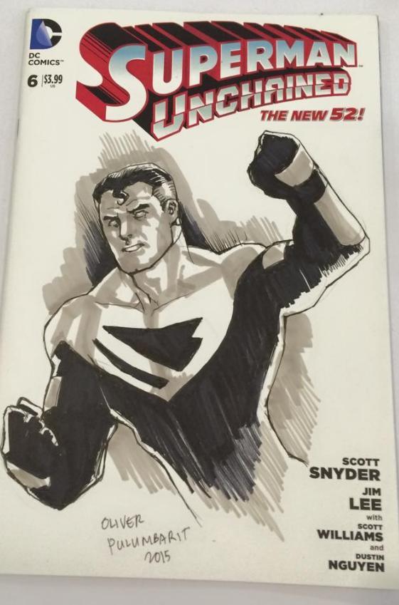 Superman Beyond by olybear
