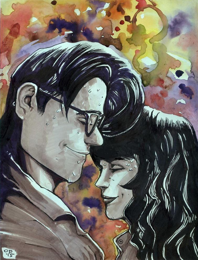 Jon and Suzie by olybear