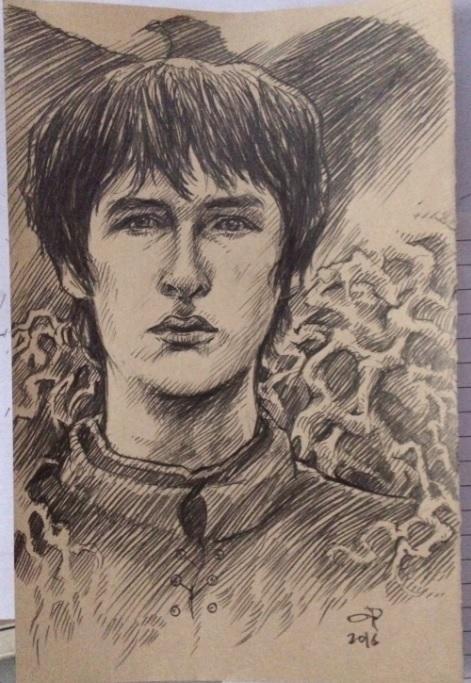 Bran Stark by olybear