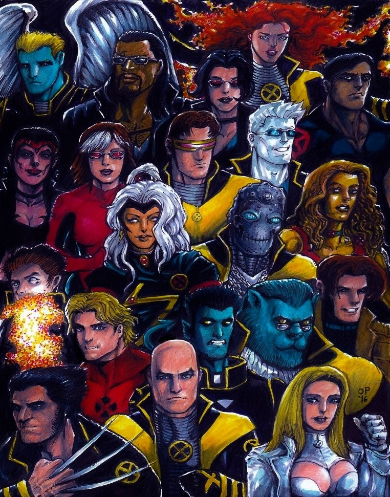 X-Men '02 by olybear