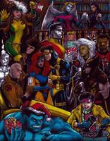 X-Men Xmas '92 by olybear