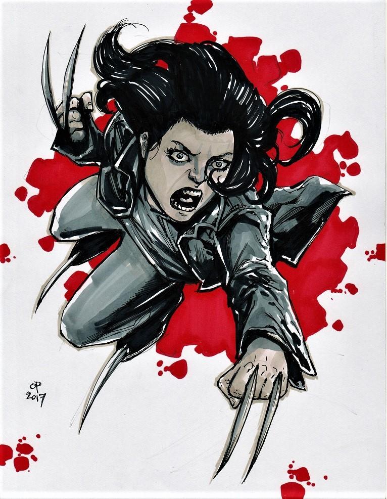 Laura, X-23 by olybear