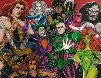 Injustice League by olybear