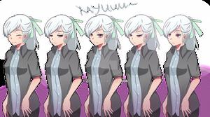 Miyu Spritesheet